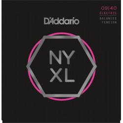 D'Addario NYXL0940BT Electric Balanced Tension [09 40]