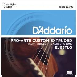 ej65tlg pro art custom extruded nylon ukulele strings tenor low g