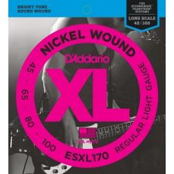 esxl170 xl nickel wound doble bola 45 100