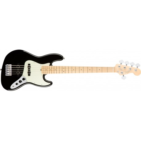 Fender American Pro Jazz Bass V MN Black