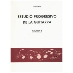 Casas Miro. Estudio Progresivo de la Guitarra Vol.3