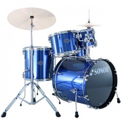 BATERIA SONOR SMART FORCE BRUSHED BLUE STAGE 1.