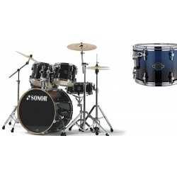 BATERIA SONOR F-2007 STAGE 1. BLUE FADE