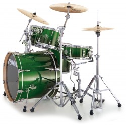 BATERIA SONOR ESSENTIAL STUDIO GREEN FADE .