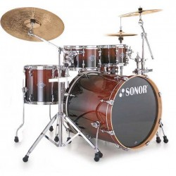 BATERIA SONOR ESSENTIAL STAGE-2 BROWN FADE.
