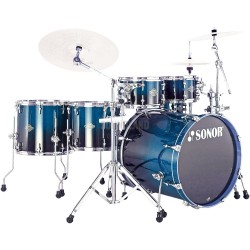 BATERIA SONOR ESSENTIAL STAGE S DRIVE BLUE FADE.