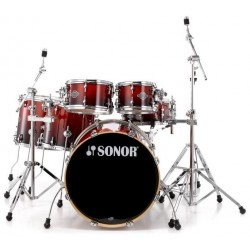BATERIA SONOR ESSENTIAL STAGE S DRIVE AMBER FADE.