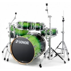 BATERIA SONOR ESSENTIAL STAGE S DRIVE GREEN FADE.