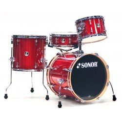 BATERIA SONOR SSE12 BOP. RED GALAXY SPARKLE