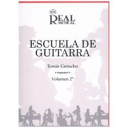 Camacho, Tom Escuela de la Guitarra Vol.2