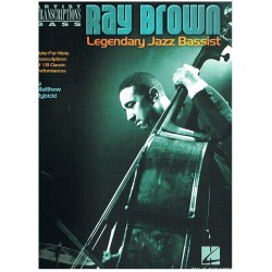 RAY BROWN. LEGENDARY JAZZ BASSIST (CONTRABAJO)