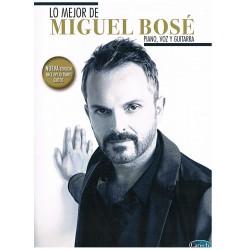 LO MEJOR DE MIGUEL BOSÉ (PIANO/VOCAL/GUITAR)