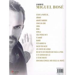 LO MEJOR DE MIGUEL BOSÉ (PIANO/VOCAL/GUITARRA)