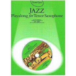 JAZZ PLAYALONG FOR TENOR SAXOPHONE (+CD).