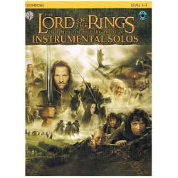 THE LORD OF THE RINGS. INSTRUMENTAL SOLOS TROMBON (+CD)