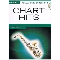 CHART HITS (+CD) REALLY EASY SAXOPHONE