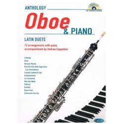 ANTHOLOGY LATIN DUETS (OBOE/PIANO) (+CD)