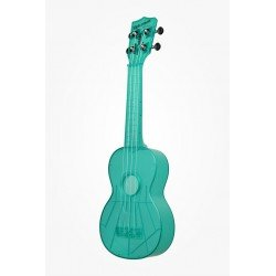 UKELELE WATERMAN AZUL TRANSPARENTE