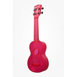 UKELELE WATERMAN ROSA TRANSPARENTE