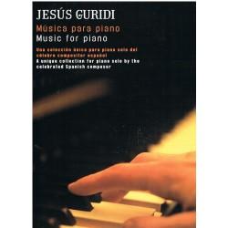 GURIDI. MUSICA PARA PIANO. UME