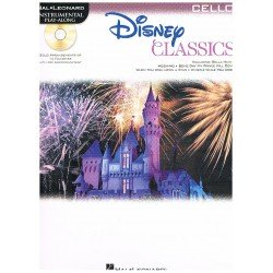 DISNEY. CLASSICS PARA CELLO +CD