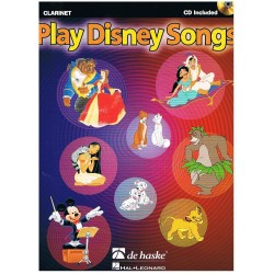 PLAY DISNEY SONGS +CD (CLARINETE)