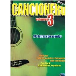 CANCIONERO VOL.3. 183 LETRAS CON ACORDES