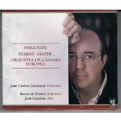 "JOSE CARLOS CARMONA DIRIGE: ""PERGOLESI. STABAT MATER"" (CD)"