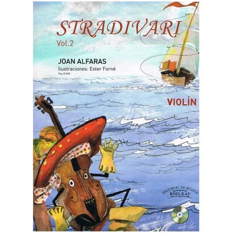 Alfarás. Stradivari Vol.2+CD (Violín)