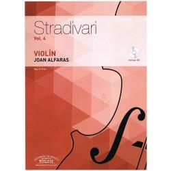 Alfarás. Stradivari Vol.4+CD (Violín)