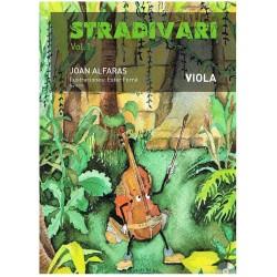 Alfarás. Stradivari Vol.1+CD (Viola)