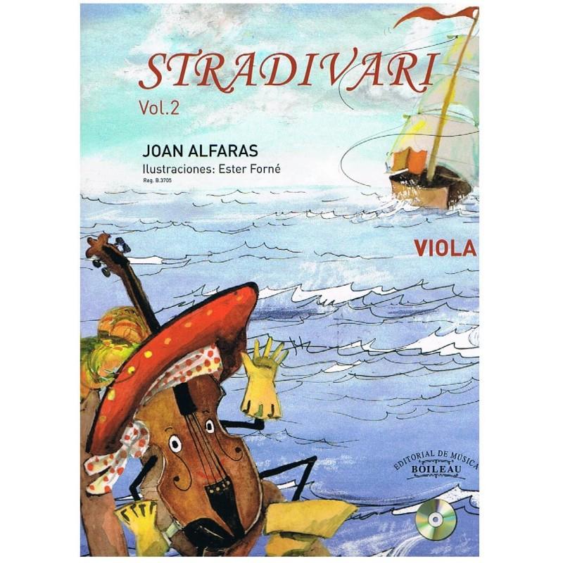 Alfarás. Stradivari Vol.2+CD (Viola)