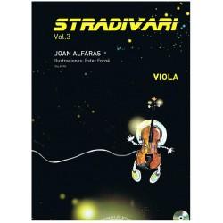 Alfarás. Stradivari Vol.3+CD (Viola)