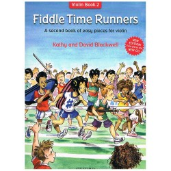 Blackwell. Fiddle Time Runners +CD (Violín Book 2)