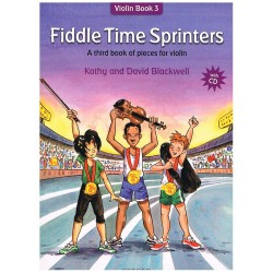 Blackwell. Fiddle Time Sprinters+CD (Violín Book 3)