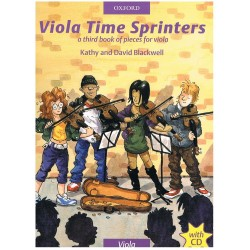 Blackwell. Viola Time Sprinters+CD (Viola Book 3)