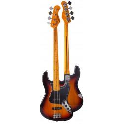 Guitarra JM FOREST Stratocaster Serie ST70MA SUNB