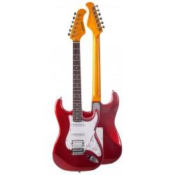 "Guitarra ""JM FOREST"" Stratocaster Serie ST73RA-CAR"