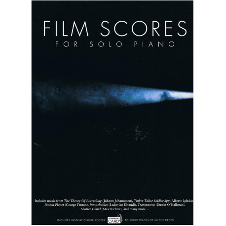 Varios. Film Scores For Solo Piano (+Download Card)