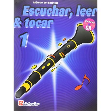 Boerstoel/Kastelein. Escuchar, Leer y Tocar Vol.1 +CD (Clarinete). De Haske