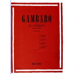 Gambaro, Vin 21 Caprichos...