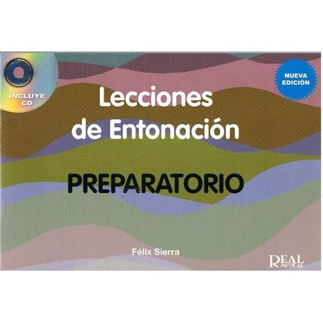 Sierra. Lecciones De Entonacion Preparatorio. Nueva Edición +CD