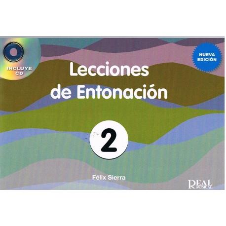 Sierra, Félix. Lecciones De Entonación 2. Nueva Edición +CD. Real Musical