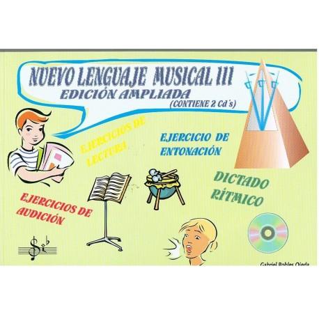 Robles, Gabriel / Robles, Mª Victoria. Nuevo Lenguaje Musical 3 Edición Ampliada +2cd's