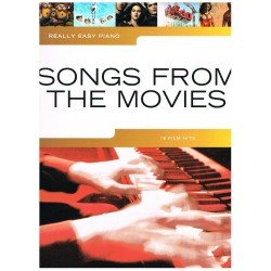 REALLY EASY PIANO. SONGS FROM THE MOVIES