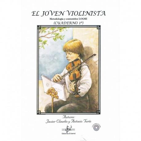 Claudio/Torés. El Joven Violinista Vol.1 +CD. Si Bemol
