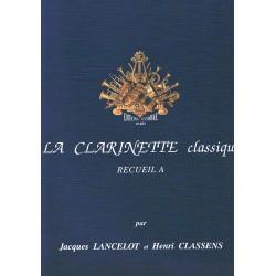 Lancelot/Cla Le Clarinette Classique Vol.A