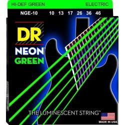 DR Cuerdas NGE 10 Neon Green