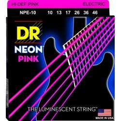 DR Cuerdas NPE 10 Neon Pink