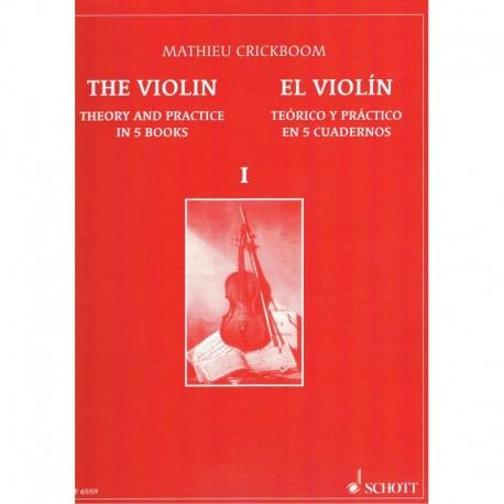 Crickboom. El Violín Teórico Práctico Vol.1. Schott
